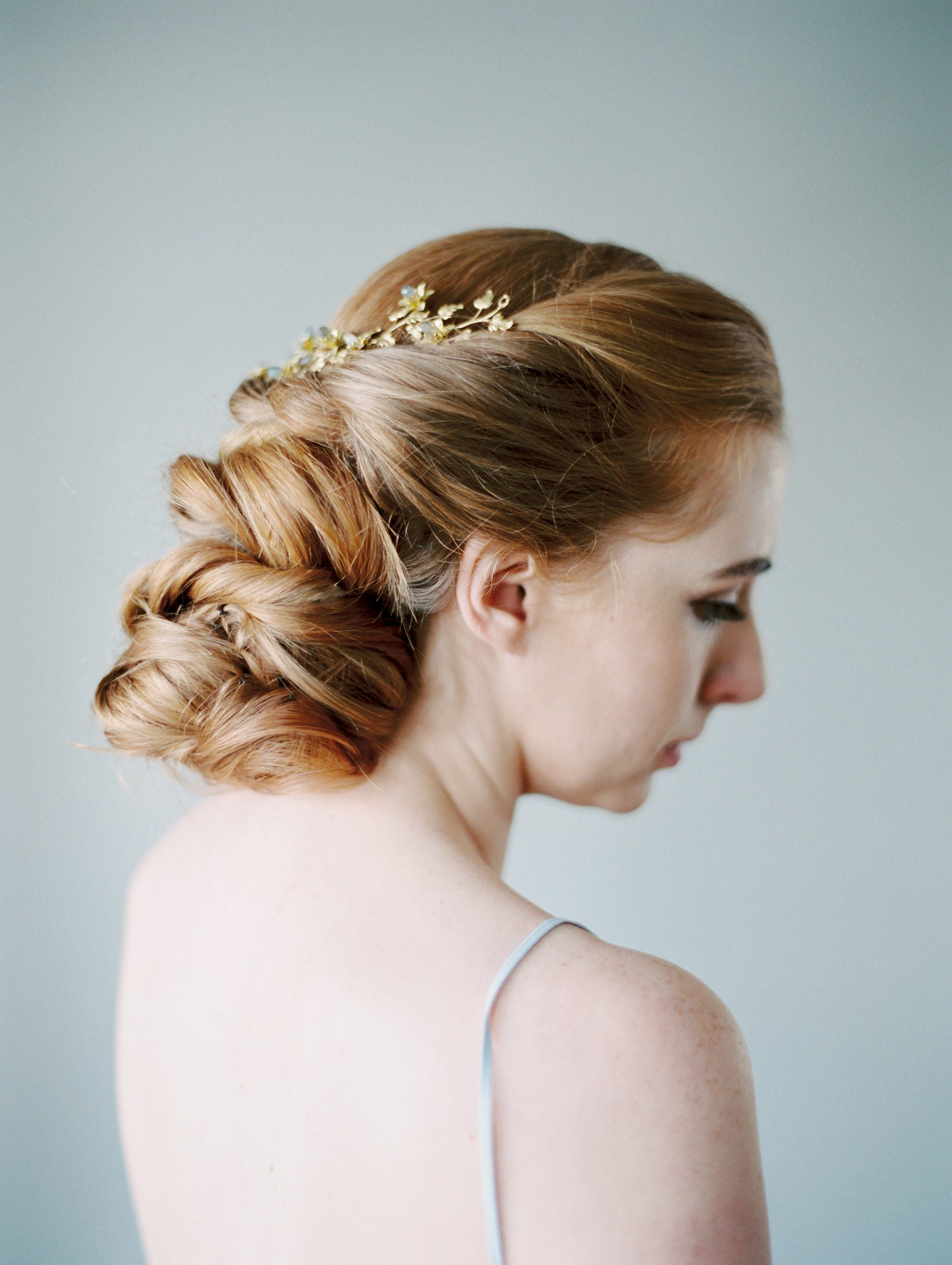 bridal hairstyle design